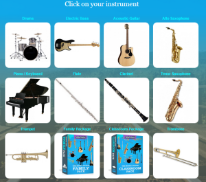 choose your instrument